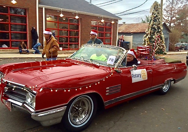 Waxhaw Christmas Parade Entry.